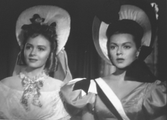 Donna Reed outshines lana Turner in Green Dolphin Street.